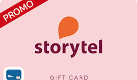 Storytel shopping card
