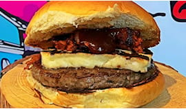 Menù con hamburger a 12€