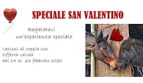 San valentino a cavallo