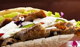 Menu panino kebab