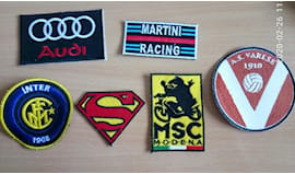 5 patch toppe ricamate