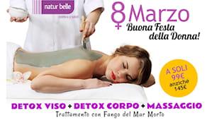 Detox + massaggio 8 marzo