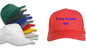 10 cappellini ricamati