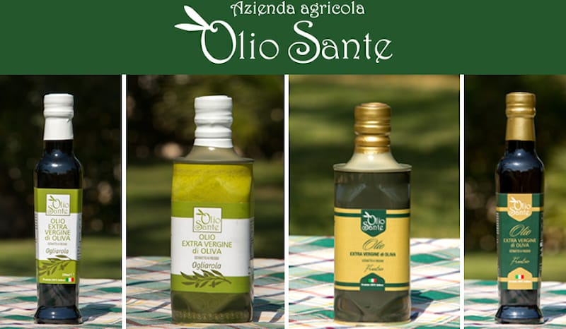 OLIO SANTE SHOPPING CARD
