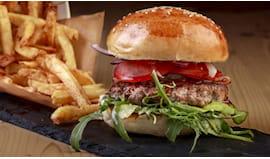 Hamburger+bibita x2 casa