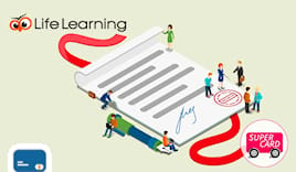 Life learning supercard