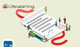 Life learning shop card