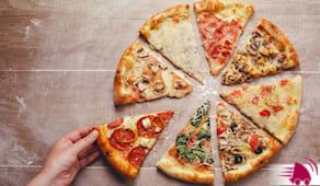 3 pizze bugs domicilio
