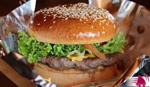 Hamburger top x2 casa