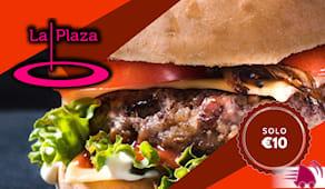Hamburger plaza domicilio