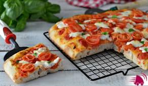 Pizza in teglia x2 a casa