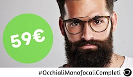 Occhiale vista monofocale
