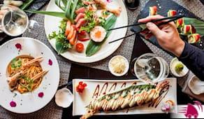 32pz sushi+2 primi a casa