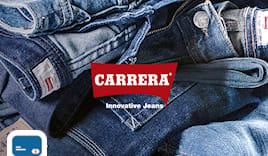 Carrera jeans card