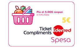 Buono spesa ticket 5€