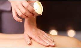 Candle massage namastè