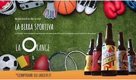 La orange beer shop card