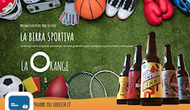 La orange birra card
