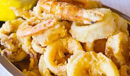 Ombrellone+pranzo pesce