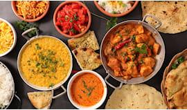 Menù indian curryhouse x2
