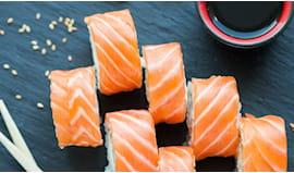18p tutto salmone asporto