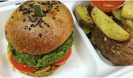 Burger vegano manipura