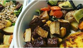 Piatto mix vegano+ infuso