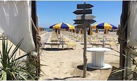 Lettino+pranzo sara beach