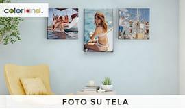 Foto su tela diversi f.ti