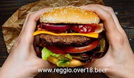 Menù hamburger x2 over18
