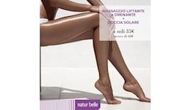 Massaggio + doccia solare