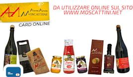 Moscattini shopping card