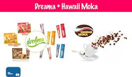 Combo dreama+hawaii moka