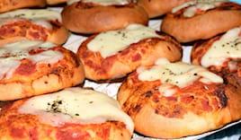 5 pizzette vari gusti