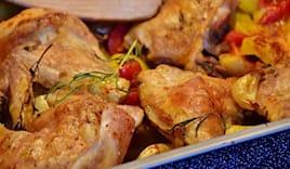 Pollo+pata + arancinette