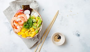 Poke x2 ninja sushi