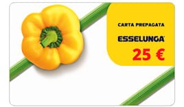 Card esselunga 25€