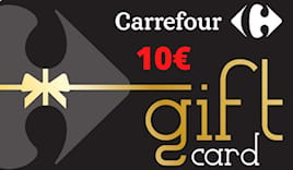 Carrefour card 10€