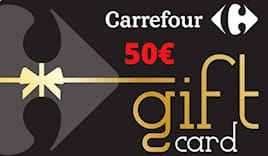 Carrefour card 50€