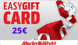 Mediaworld card 25€