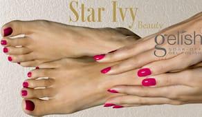 Pedicure+smalto star