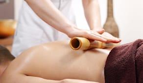 Massaggio bamboo 45 min