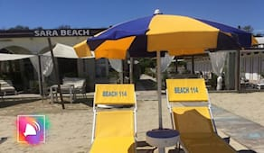 Giornata al sara beach ⭐