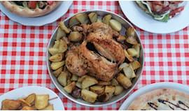 Pollo arrosto intero x2