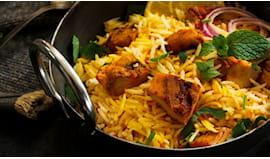 Menù indiano tasty