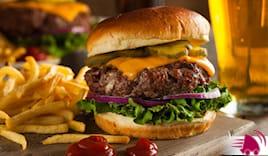 Menù hamburger tasty