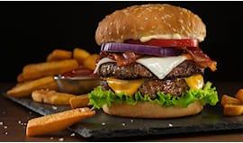 Menù hamburger vesuvio