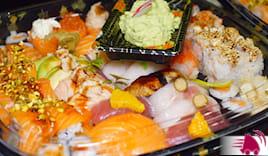 36 pz sushi plaza a casa