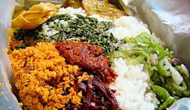 Menù vegan lover srilanka