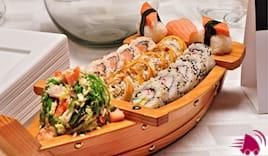 40pz sushi + 4 antipasti